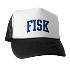 FISK design (blue) Trucker Hat