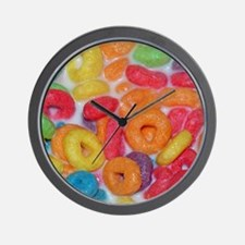 Fruity Cereal Wall Clock