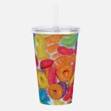 Fruity Cereal Acrylic Double-wall Tumbler