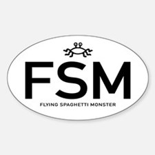 Fsm: Flying Spaghetti Monster Decal