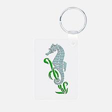Seahorse Design Keychains