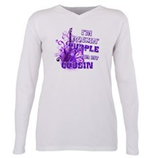 Cute Fight like a girl cause Plus Size Long Sleeve Tee
