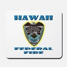 Hawaii Federal Fire Department Mousepad