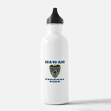 Hawaii Federal Fire De Water Bottle