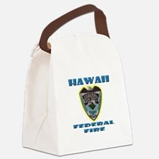 Hawaii Federal Fire Department Canvas Lunch Bag