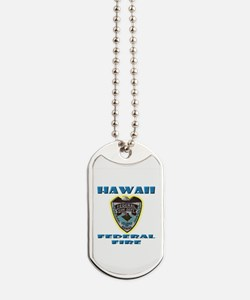 Hawaii Federal Fire Department Dog Tags