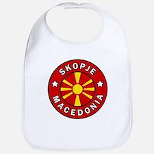 Skopje Macedonia Bib