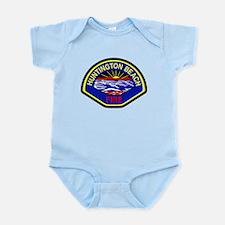 Huntington Beach Fire Infant Bodysuit