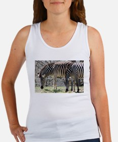 Zebras At Lunch Tank Top