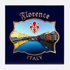 Ponte Vecchio - Florence, Italy Tile Coaster