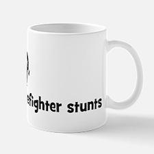 Firefighter stunts Mug
