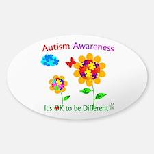 Autism Awareness Sunflower Decal