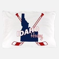 Idaho Hockey Pillow Case
