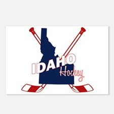 Idaho Hockey Postcards (Package of 8)