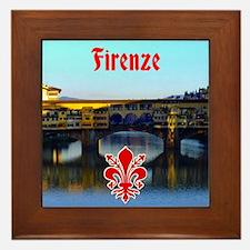 Ponte Vecchio - Florence, Italy Framed Tile