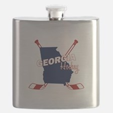 Georgia Hockey Flask