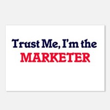 Trust me, I'm the Markete Postcards (Package of 8)