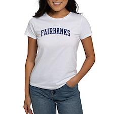 FAIRBANKS design (blue) Tee