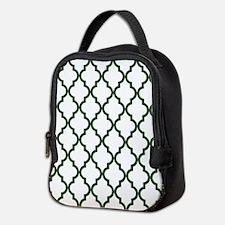 Moroccan Quatrefoil Pattern: Pi Neoprene Lunch Bag
