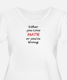 love math or T-Shirt
