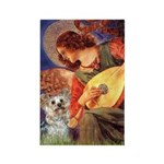 Angel 3 - Yorkshire Terrier Rectangle Magnet (10 p