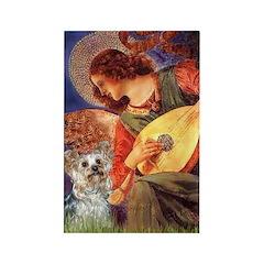 Angel 3 - Yorkshire Terrier Rectangle Magnet