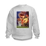 Angel 3 - Yorkshire Terrier Kids Sweatshirt