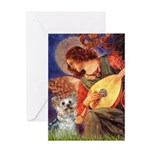 Angel 3 - Yorkshire Terrier Greeting Card