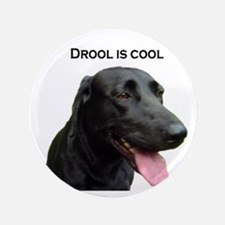 """drool is cool 3.5"""" Button"""