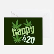 Happy 420 Greeting Card
