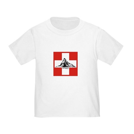 flag&mountain Toddler T-Shirt
