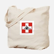 flag&mountain Tote Bag