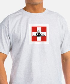 flag&mountain T-Shirt