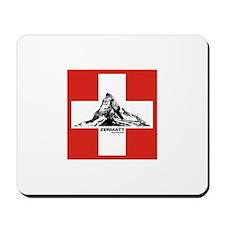 flag&mountain Mousepad