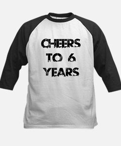 Cheers To 06 Years Designs Tee