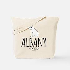 Albany Nipper Dog Tote Bag