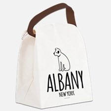 Albany Nipper Dog Canvas Lunch Bag
