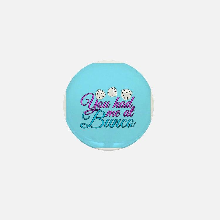 Cute Bunco Mini Button