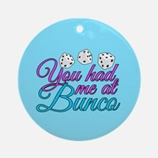 Cute Bunco Round Ornament