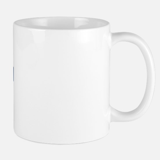 EGBERT design (blue) Mug