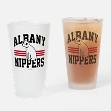 Albany Nipper Dog Drinking Glass