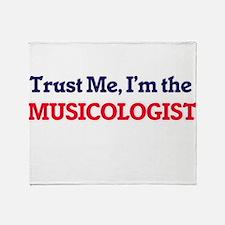 Trust me, I'm the Musicologist Throw Blanket