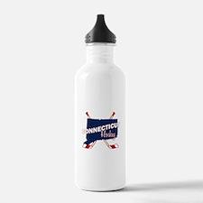 Connecticut Hockey Water Bottle