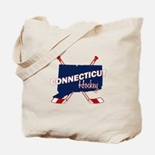 Connecticut Hockey Tote Bag