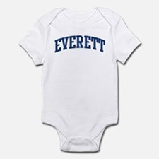 EVERETT design (blue) Onesie