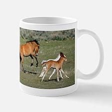 Wild Horses Running Mugs