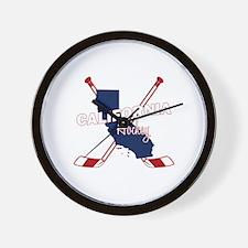 California Hockey Wall Clock
