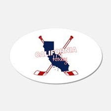 California Hockey Wall Decal