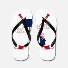 California Hockey Flip Flops