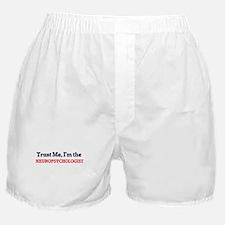 Trust me, I'm the Neuropsychologist Boxer Shorts